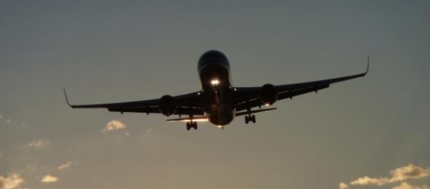 Tragiczny lot/ fot.A.J.Casanov