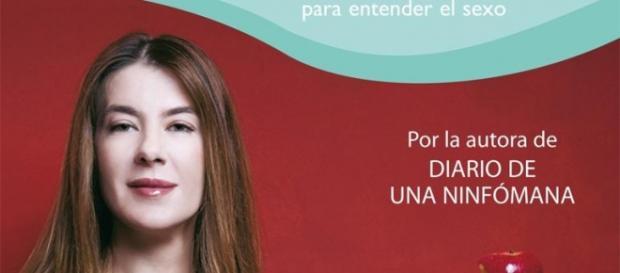 Valérie Tasso en la portada de uno de sus libros.