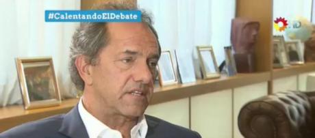 Scioli dijo que Macri destruirá el empleo