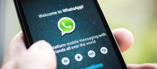 La schermata principale di WhatsApp