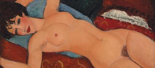 'Nu Couché', obra de Amedeo Modigliani