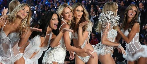 Os anjos da Victoria's Secret.