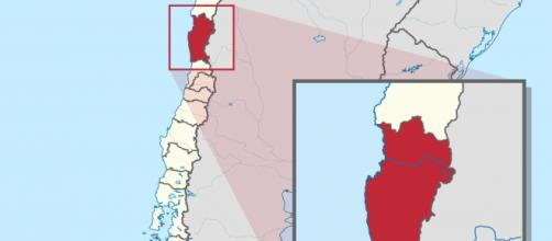 Región de Coquimbo, Chile, afectada por el seísmo