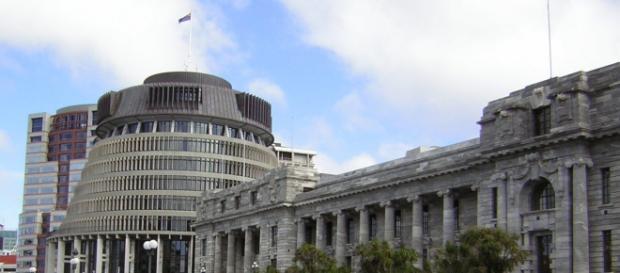 El parlamento de Nueva Zelanda en Wellington