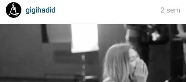 Instagram de Gigi Hadid, nuevo ángel de VS