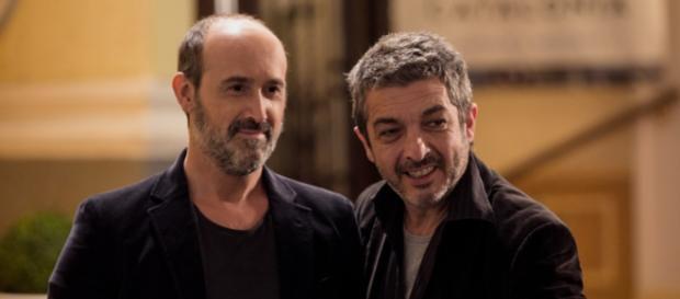 Los actores Javier Cámara y Ricardo Darín