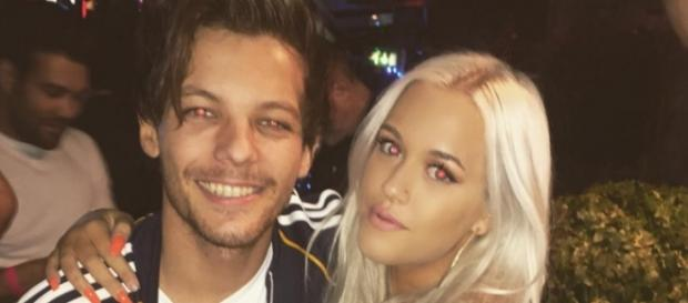 One Direction-Star Louis Tomlinson & Schwester