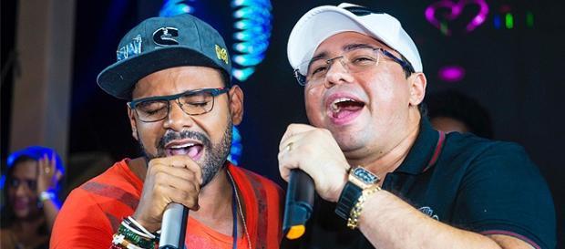 Pablo e Xande, vocalista da banda Aviões do Forró