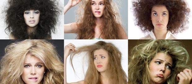 Trucos para cabellos encrespados
