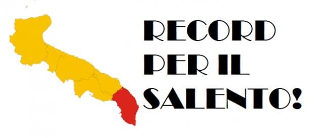 Un importante record per il Salento.