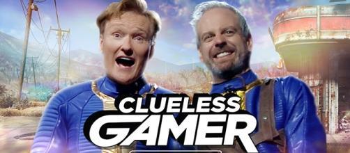 Conan O´Brian también juega al Fallout 4
