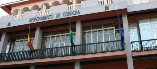 Facha del Ayuntamiento de Córdoba