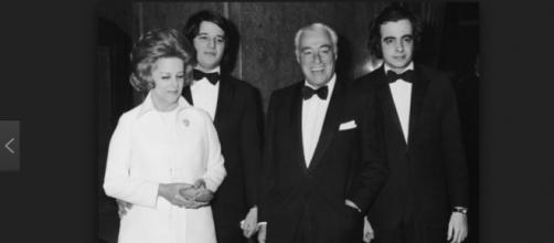 Il grande Vittorio con la sua famiglia.