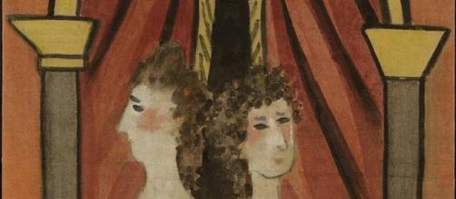 La loge, opera di Picasso esposta a Brera