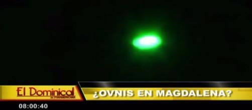 Ufo ripreso a Magdalena del Mar