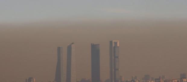 Foto de la contaminación de Madrid
