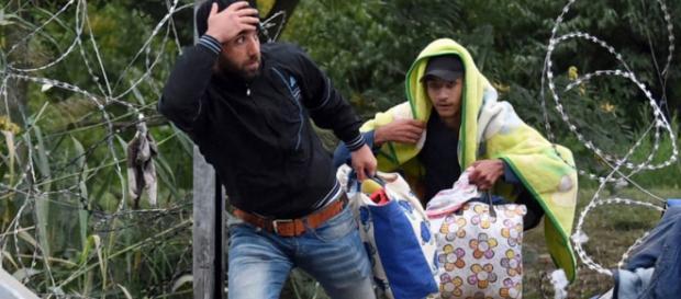 Refugiados estão chegando a Portugal.
