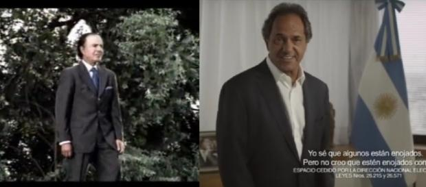 Retrospectiva de Menem y Scioli