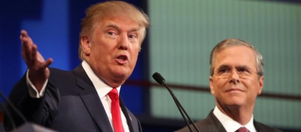 Trump y Bush se podrían disputar la candidatura