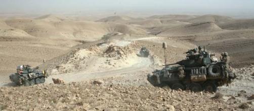 A Kurdish Sinjar offensive against ISIS.