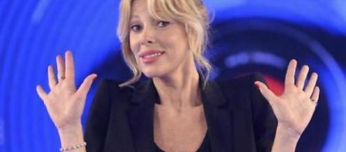 Alessia Marcuzzi durante la trasmissione