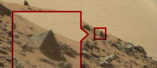 Fotos de uma possível pirâmide