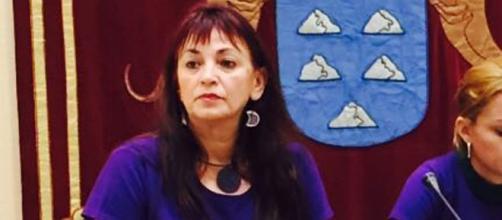 La diputada de Podemos María del Río