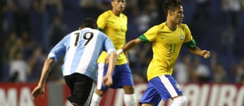 Neymar volta contra a Argentina nesta quinta