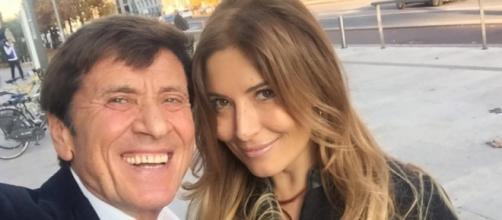 Selfie su Fb: Gianni Morandi e Selvaggia Lucarelli