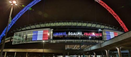 Wembley se vistió de los colores de Francia
