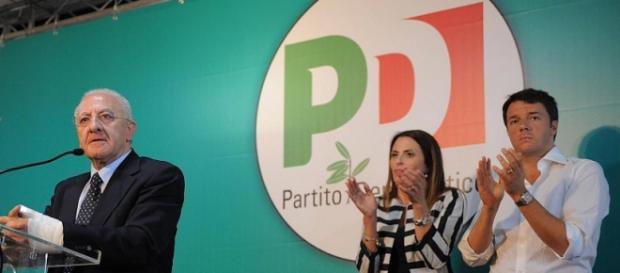 De Luca con il premier Renzi - Facebbok