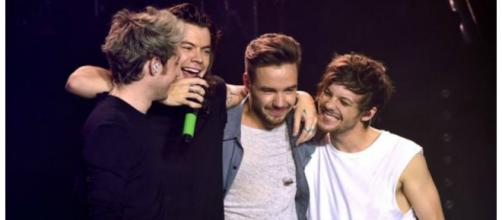 One Direction during final show