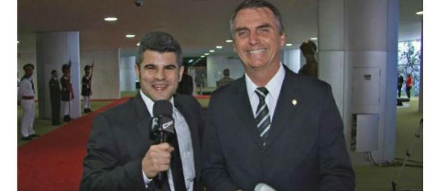 Deputado Bolsonaro em entrevista ao CQC