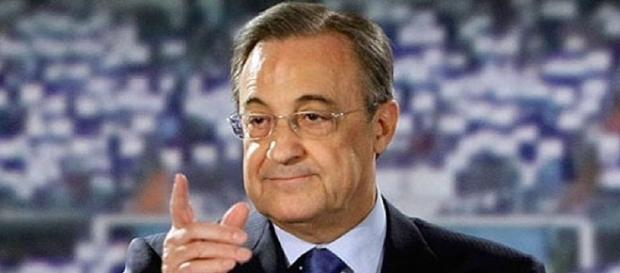 Florentino Pérez, en una acto del Real Madrid