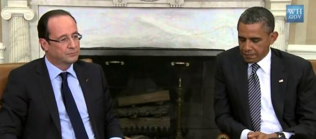 Hollande y Obama unidos contra Estado Islámico