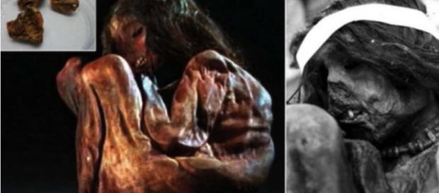 La mummia del bambino di 500 anni fa