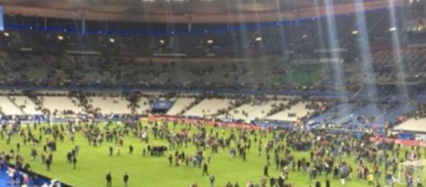 Momenti di paura allo Stade de France