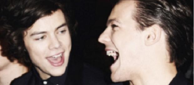 One Direction-Stars Louis Tomlinson & Harry Styles