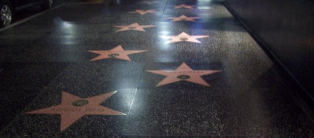 Paseo de la Fama en Hollywood, California