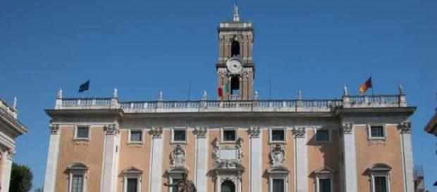 Roma: il Campidoglio, la sede del municipio