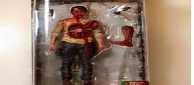 The Walking Dead 6, toy di Glenn zombie