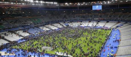 El Stade de France tras el atentado
