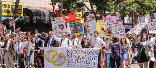 Backlash from Mormon decision on gay families.