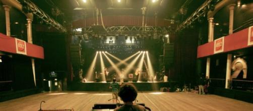 L'interno della sala concerti Bataclan.