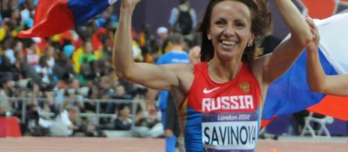 La mezzofondista Savinova, oro a Londra 2012