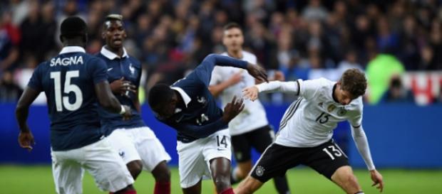 Imagen del Francia vs Alemania del fatídico 13-N