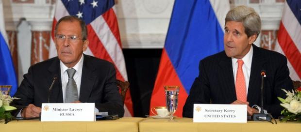 Kerry y Lavrov en una imagen de archivo