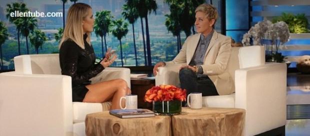 Khloe was very revealing on Ellen show