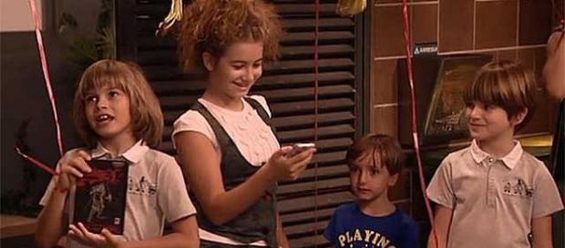 Los actores más jóvenes de la serie