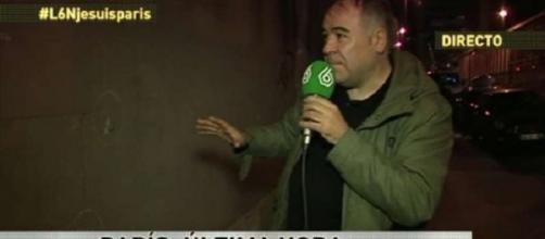 Antonio García Ferreras, anoche desde Paris.